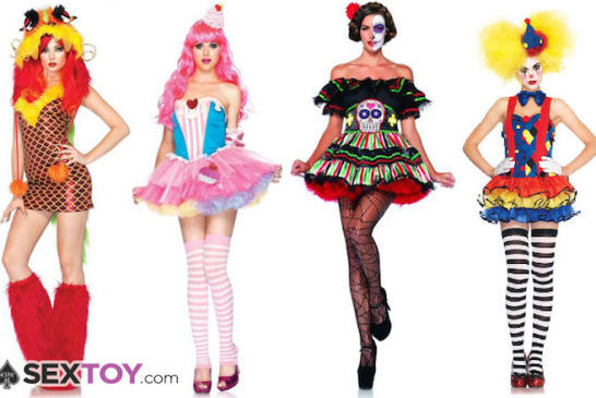 Sexy Costume Trends That May Be Stranger Than Sexy