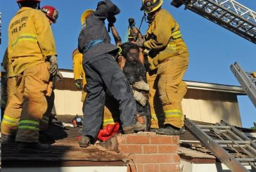Woman Gets Stuck In Chimney Sneaking Into Man's House She Met On Dating Site
