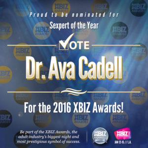 X-Biz Vote Dr. Ava Cadell