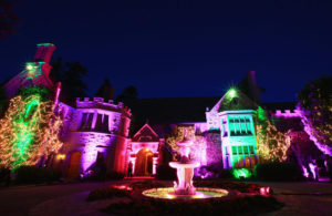HOLMBY HILLS, CA - AUGUST 16: Guests attend the Annual Midsummer Night's Dream Party at the Playboy Mansion hosted by Hugh Hefner on August 16, 2014 in Holmby Hills, California. (Photo by Christopher Polk/Getty Images for Playboy)